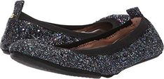 Yosi Samra Womens SamaraG Ballet Flat Black Rainbow Glitter 10 M US *** Continue to the product at the image link. (This is an affiliate link) Yosi Samra, Black Ballet Flats, Samara, Women's Flats, Image Link, Wedges, Glitter, Rainbow, Stuff To Buy