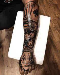 Greatest Tattoo Ideas For Men in 2020 - Tattoo Stylist Half Sleeve Tattoos For Guys, Tribal Tattoos For Men, Half Sleeve Tattoos Designs, Forearm Sleeve Tattoos, Hand Tattoos For Guys, Best Sleeve Tattoos, Men Tattoo Sleeves, Men Arm Tattoos, Cool Chest Tattoos