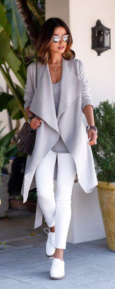 gray on gray on white