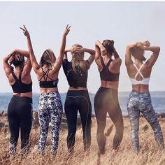 Get together- its more fun! #trening #treningsglede #treningsklærforkvinner #ladysport_no Dere, Bikinis, Swimwear, Pants, Fashion, Bathing Suits, Trouser Pants, Moda, Swimsuits