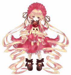 rozen maiden, shinku, kun-kun
