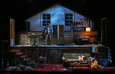repertory lighting theatre scenic wilson pattak kansas little design alive cory 2014 chin city more A Little More Alive Kansas City Repertory Theatre Scenic design by Wilson Chin Lighting by Cory You can find Scenic design and more on our website Stage Lighting Design, Stage Set Design, Set Design Theatre, Prop Design, Scenic Design, Little Shop Of Horrors, Decoration, Design Inspiration, Architecture