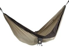 Camping Hammocks - Pin It :-) Follow US  :-)) zCamping.com is your Camping Product Gallery ;) CLICK IMAGE TWICE for Pricing and Info :) SEE A LARGER SELECTION of camping hammocks at http://zcamping.com/category/camping-categories/camping-furniture/camping-hammocks-camping-furniture/ - hunting, camping, hammocks, camping gear, camping accessories - Kammok Roo Hammock, Sahara/Stone Gray « zCamping.com