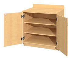 fleetwood illusions base shelf cabinet with nonlocking doors in
