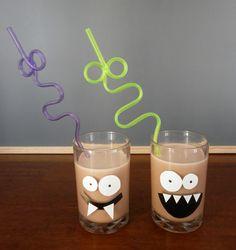 vasos para bebida de monstruos