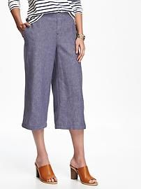 Linen Culottes for Women
