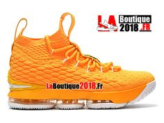 c83eb647a9 Chaussures Nike LeBron 15/XV Baskets Homme/Enfant Jaune F897648-ID6