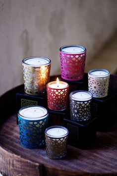 Moroccan Candles
