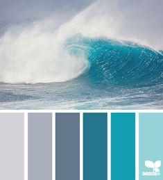color wave via Design Seeds | 01 Mar 2013