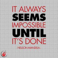 Nelson Mandela quote   Rock N' Roll Marathon