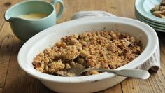 Apple crumble |      This recipe is an all-time favourite of those hankering after the ultimate quick and easy dessert. Serve with nostalgia.