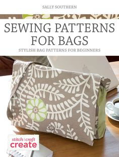 Sewing Patterns For Bags - Get this free bag sewing eBook and create your very own handmade bags that you will use everyday Sewing Tutorials, Sewing Hacks, Sewing Crafts, Sewing Projects, Sewing Ideas, Purse Patterns, Sewing Patterns, Sewing Clothes, Bags Sewing