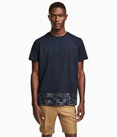 Check this out! T-shirt in cotton jersey. - Visit hm.com to see more.