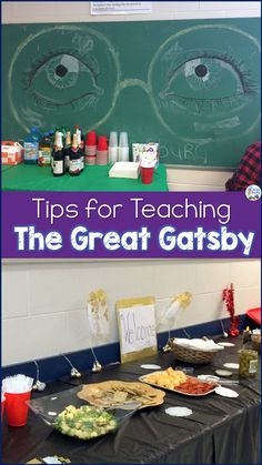 Engage your high school students in their reading of The Great Gatsby by F. Use close reading inquiry learning and other fun activities to make your students excited to learn! Teaching American Literature, Middle School English, School Levels, The Great Gatsby, Learning Activities, Teaching Strategies, High School Students, Teaching Reading, Math Lessons