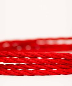 Vintage Fabric Electric Cable - Red Twisted - William&Watson