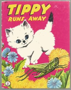 Vintage-Childrens-Jolly-Book-TIPPY-RUNS-AWAY