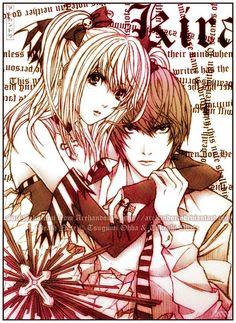 Light Yagami and Misa Amane. :3