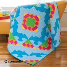 GO! Drunkard's Path Summer Combo Quilt Pattern