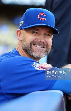 David Ross, CHC//Oct 18,2016 Game 3 NLCS at LAD