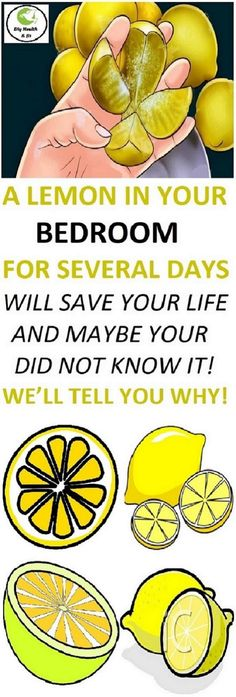 A Lemon In Your Bedroom For Several Days Will Save Your Life And Maybe Your Did Not Know It! We'll Tell You Why! #ALemonInYourBedroomForSeveralDaysWillSaveYourLifeAndMaybeYourDidNotKnowItWellTellYouWhy!