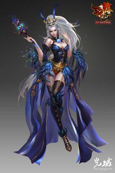 Warrior Girl, Warrior Princess, Anime Fantasy, Fantasy Girl, Fantasy Characters, Female Characters, Fantasy Character Design, Character Art, Samurai