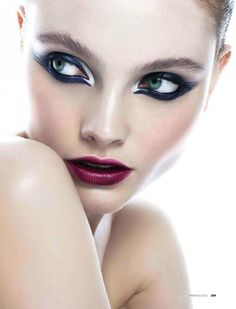 5 Striking Party-Perfect Beauty Looks From Elle Russia