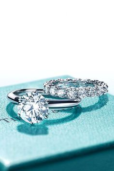 15 Most Loved Tiffany Engagement Rings ❤ Tiffany engagement rings are perfect. Our gallery contains classic, simple, halo, diamond engagement rings. See more: http://www.weddingforward.com/tiffany-engagement-rings/ #wedding #engagement #rings