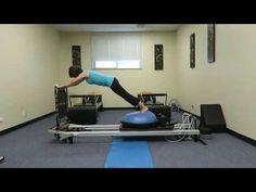 BOSU Ball Pilates Reformer Workout - YouTube