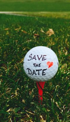 Save the date with Katke Golf Course! #Golf #Course #Wedding #Savethedate #Golfball #Tee