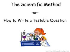 How to Write a Testable Question - ppt download
