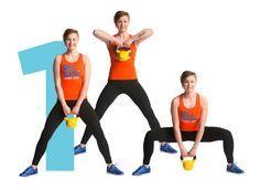 Kroppa timmiksi kahvakuulalla – kuuden liikkeen tehotreeni - Liikunta - ME NAISET