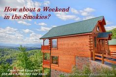 Even better, how about Half-Price on that weekend cabin in the Smoky Mountains? All remaining cabins are half their listed prices this weekend, August 28-30, 2015. Call 855-84-CABIN, and click through to our Specials page for similar late-breaking deals throughout the year.