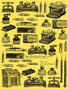 Antique Office Supplies