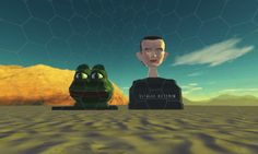 Giant Pepe and Vitalik Buterin Busts Capture Attention as  Uncensorable Art in Decentraland Alpha - ADVERTISEMENT Share with:   Decentraland unveiled the world'sRead more ... source: CoinDesk.com  Advertise on the Bitcoin News  Do you like The Bitcoin News ? Thank you for Support us ! BTC: 1FVCSiK2ErerjH1kBP4VLS5LqR3YzmVeXf ETH: 0xa829E61Cc130b4f02fbfc9D7763361a550C7f824  - https://thebitcoinnews.com/giant-pepe-and-vitalik-buterin-busts-capture-attention-as-uncensora