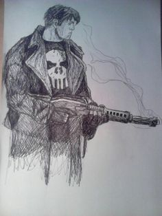 My version of the Punisher