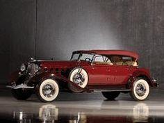 1933 Chrysler CL Imperial Dual Windshield Sport Phaeton