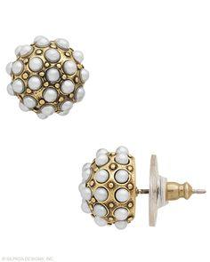 Pearls Night Out Earrings, Earrings - Silpada Designs
