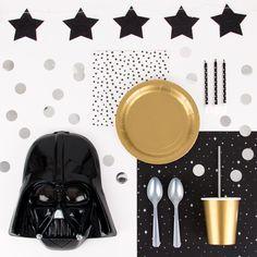 """À tout ceux qui organisent une fête Star Wars: """"Que la Force soit avec toi! #mylittleday"""