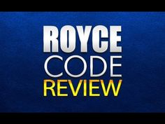 """Royce Code Review - Is """"Royce Code"""" a scam or real? https://www.youtube.com/watch?v=NK4MPiTdg_U #roycecode #roycecodereview #roycecodescam"""