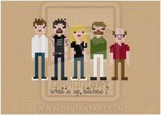 It's Always Sunny cross stitch pattern by avatarswish