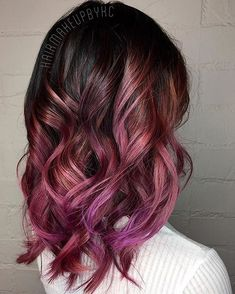 7 tips to get dyed hair – … – Hair Style Hair Color Pink, Purple Hair, Purple Ombre, Gold Hair, Cabelo Rose Gold, Balayage Hair, Auburn Balayage, Pretty Hairstyles, Hairstyles Haircuts
