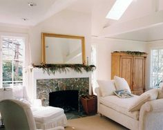River Rock Fireplace Design, Pictures, Remodel, Decor and Ideas