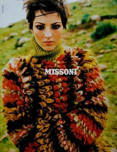Chandra North for Missoni, 1996