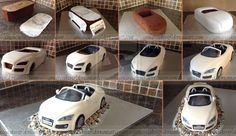 Audi Convertable stages by ginas-cakes.deviantart.com on @deviantART