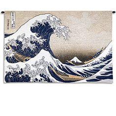 Gotta get this artwork - Great Wave at Kanagawa.  We live in Kanagawa Prefecture, Japan