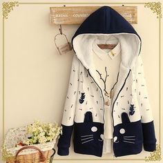 Buy Fairyland Hooded Cat Zip Jacket at YesStyle.com! Quality products at remarkable prices. FREE WORLDWIDE SHIPPING on orders over US$35.
