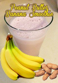 Yummy Peanut Butter Banana Smoothie!!