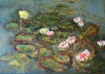 seerosen Oil On Canvas, Saatchi Art, Original Paintings, Artist, Flowers, S Pic, Pictures, Painted Canvas, Artists