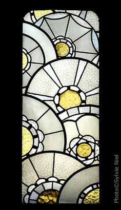 vit192 sticker vitrail art deco deco vitres sticker vitre projet vitr 39 optic pinterest. Black Bedroom Furniture Sets. Home Design Ideas