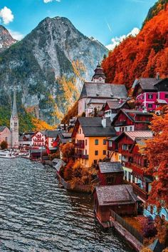 Hallstatt, Austria travel destinations 10 Most Beautiful Villages in Europe Beautiful Places To Travel, Wonderful Places, Places Around The World, Travel Around The World, Dream Vacations, Vacation Spots, Girls Vacation, Vacation Ideas, Austria Travel